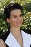 Actress Juliette Binoche stock photo