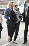 Actress Kate Winslett at LAX airport. Stock Photography