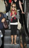 Actress Kristin Cavallari is seen at LAX Stock Photos