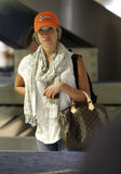 Actress Kristin Cavallari is seen at LAX Stock Photo