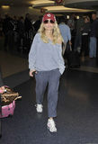 Actress Kristin Chenoweth at LAX airport Stock Photo