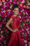 Lauren Ridloff at 2018 Tony Awards royalty free stock photos