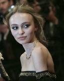 Actress Lily-Rose Depp Royalty Free Stock Photography
