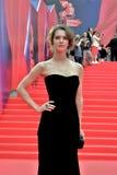 Actress Lyanka Griu at Moscow Film Festival Royalty Free Stock Photo