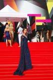 Actress Lyanka Griu at Moscow Film Festival Royalty Free Stock Photos