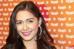 Actress Maja Salvador. Picture of Filipina Actress Maja Salvador Royalty Free Stock Photo