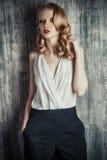 Actress make-up stock photos