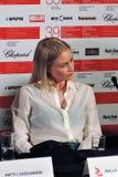 Actress Malla Malmivaara, Finland, at Moscow International Film Festival royalty free stock images