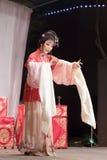 Actress miss her man, taiwanese opera jinyuliangyuan stills Stock Photos