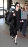 Actress/model Dita Von Teese at LAX Royalty Free Stock Photos