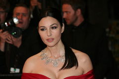 Actress Monica Bellucci Stock Photography