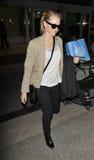 Actress Naomi Watts seen at LAX airport Stock Images