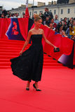 Actress Natalia Bardo at Moscow Film Festival Royalty Free Stock Image