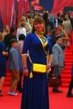 Actress Natalia Gromushkina at Moscow Film Festival Stock Photos