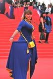 Actress Natalia Gromushkina at Moscow Film Festival Royalty Free Stock Photos