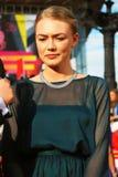 Actress Oksana Akinshina at Moscow Film Festival Stock Images