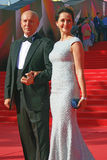 Actress Olga Kabo at Moscow Film Festival Stock Image