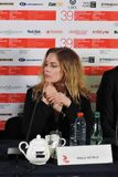 Actress Pihla Viitala, Finland, at Moscow International Film Festival Royalty Free Stock Image