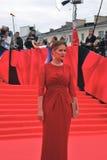 Actress and politician Maria Kozhevnikova at Moscow Film Festival Royalty Free Stock Image