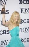 Actress Rachel Bay Jones Hoists Statuette at 71st Tonys Stock Photos