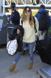 Actress Rachel bilson is seen at LAX Stock Photo