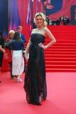 Actress Renata Piotrovsky at Moscow Film Festival Royalty Free Stock Photos