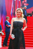 Actress Renata Piotrovsky at Moscow Film Festival Royalty Free Stock Images