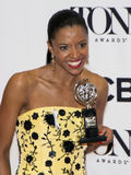 Actress Renee Elise Goldsberry Nabs Award at 70th Tony Stock Photography