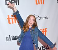 Actress Ripley Sobo at `Three Christs` premiere at TIFF17. Actress Ripley Sobo at `Three Christs` film premiere at Roy Thomson Hall , toronto. Hollywood icon Stock Photos