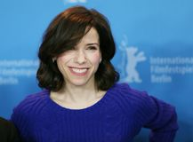 Actress Sally Hawkins attends the photocall. Of `Maudie` during the 67th Berlinale Film Festival Berlin at Grand Hyatt Hotel in Berlin, Germany on February 15 Stock Photos