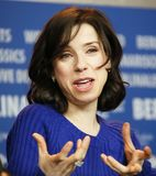 Actress Sally Hawkins attends the press conference Stock Images