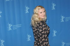 Actress Scarlett Johansson. BERLIN - FEBRUARY 15: Actress Scarlett Johansson attends the 'The Other Boleyn Girl' Photocall as part of the 58th Berlinale Film Stock Images