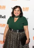 Actress Shaista Latif premiere of The Breadwinner at TIFF 2017 Royalty Free Stock Photo