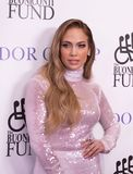 Jennifer Lopez. Actress, singer, dancer, and pop superstar Jennifer Lopez attends the 33rd Annual Great Sports Legends Dinner, at the New York Hilton Midtown on stock photo