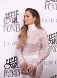 Jennifer Lopez. Actress, singer, dancer, producer, and pop superstar Jennifer Lopez attends the 33rd Annual Great Sports Legends Dinner, at the New York Hilton royalty free stock photo