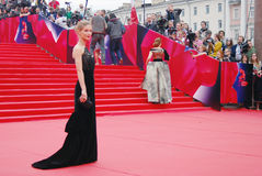 Actress Svetlana Ivanova at Moscow Film Festival Royalty Free Stock Photography