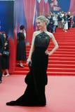 Actress Svetlana Ivanova at Moscow Film Festival Stock Image