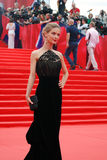 Actress Svetlana Ivanova at Moscow Film Festival Stock Images