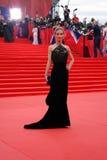 Actress Svetlana Ivanova at Moscow Film Festival Royalty Free Stock Photography
