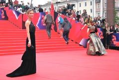 Actress Svetlana Ivanova at Moscow Film Festival Royalty Free Stock Photos