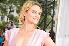Actress Taylor Schilling at The Public premiere at Stock Photography