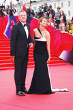 Actress Victoria Isakova at Moscow Film Festival Royalty Free Stock Photo