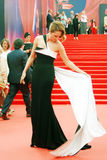 Actress Victoria Isakova at Moscow Film Festival Royalty Free Stock Photos