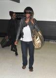 Actress Viola Davis  at LAX airport. Stock Photo