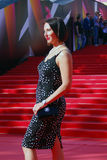 Actrice Alika Smekhova bij de Filmfestival van Moskou Royalty-vrije Stock Fotografie