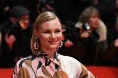Actrice allemande Rosalie Thomass pendant le Berlinale 2018 Photo libre de droits