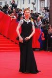 Actrice Amalia Amalia au festival de film de Moscou Images stock