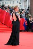 Actrice Amalia Amalia au festival de film de Moscou Images libres de droits
