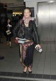 Actrice Anna Torv à l'aéroport de LAX, CA Etats-Unis Image libre de droits