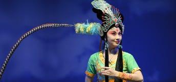 Actrice assez chinoise d'opéra Photographie stock libre de droits